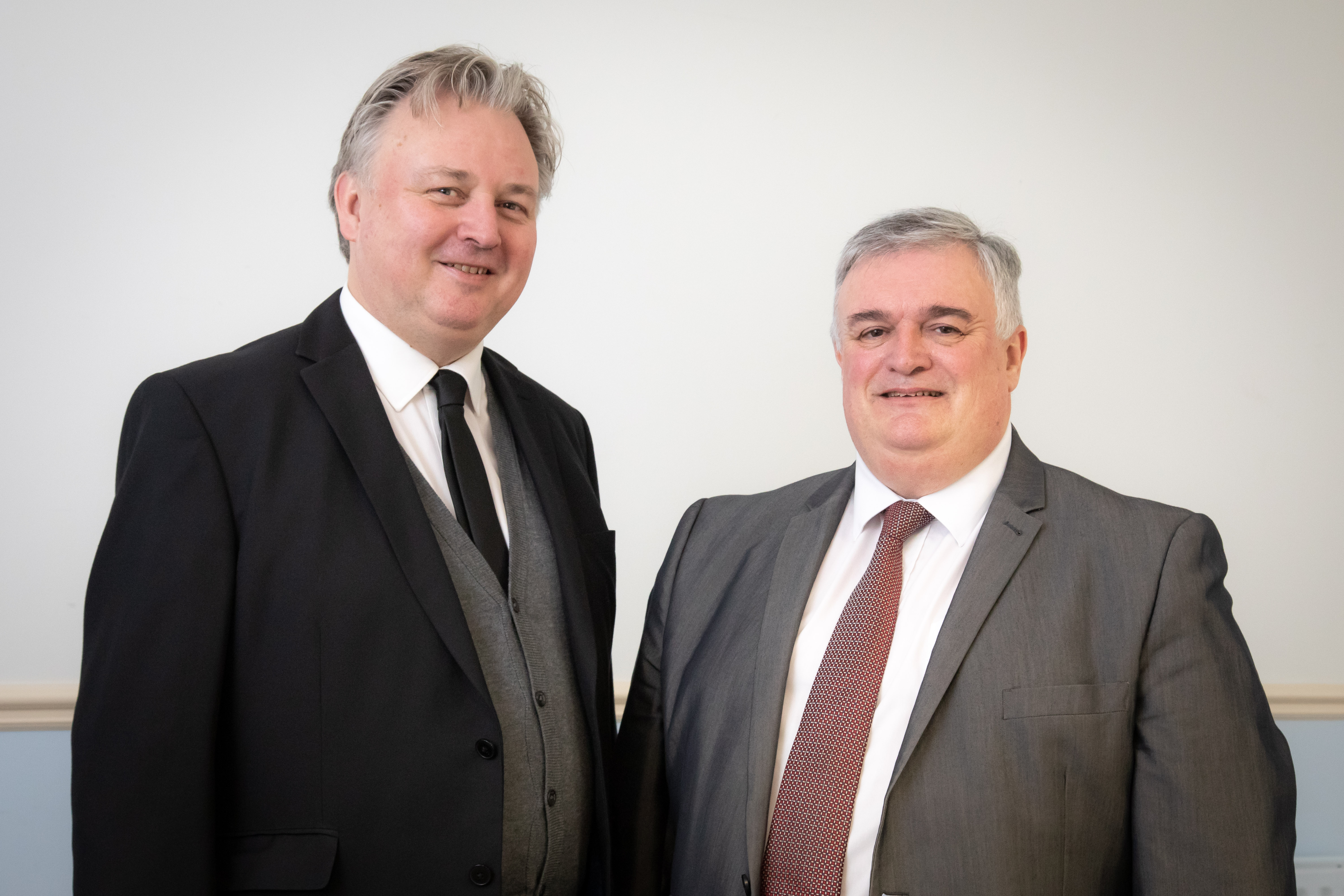 Jonathan Bates (Thorndon) and Paul Smith (Guernsey Investment Fund Association / GIFA)